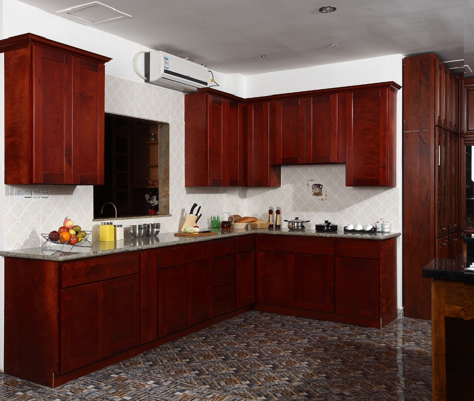 shaker style kitchen cabinets. image of cherry shaker kitchen cabinets  bathroom design center Shaker Kitchen Cabinets Cherry Fancy Brown Color