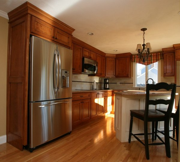 Red Birch Kitchen Cabinets: Kitchen & Bathroom Design Center