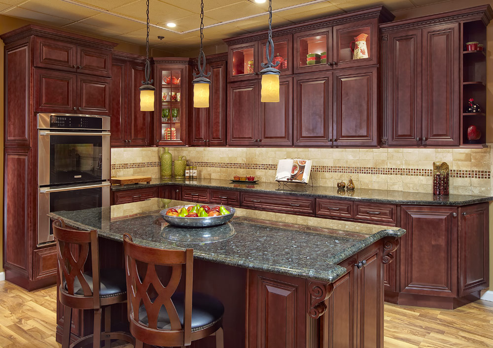 Rta cabinets home decor and interior design for Cherrywood kitchen designs