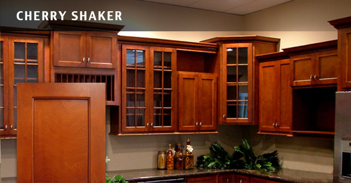 Cherry Shaker Kitchen Kitchen Detroit By Cole Wagner Cabinetry Cherry
