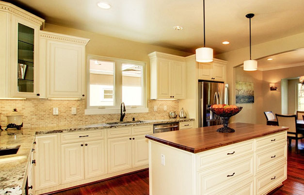 Cream Colored Kitchen Cabinets With Glazing Quotes