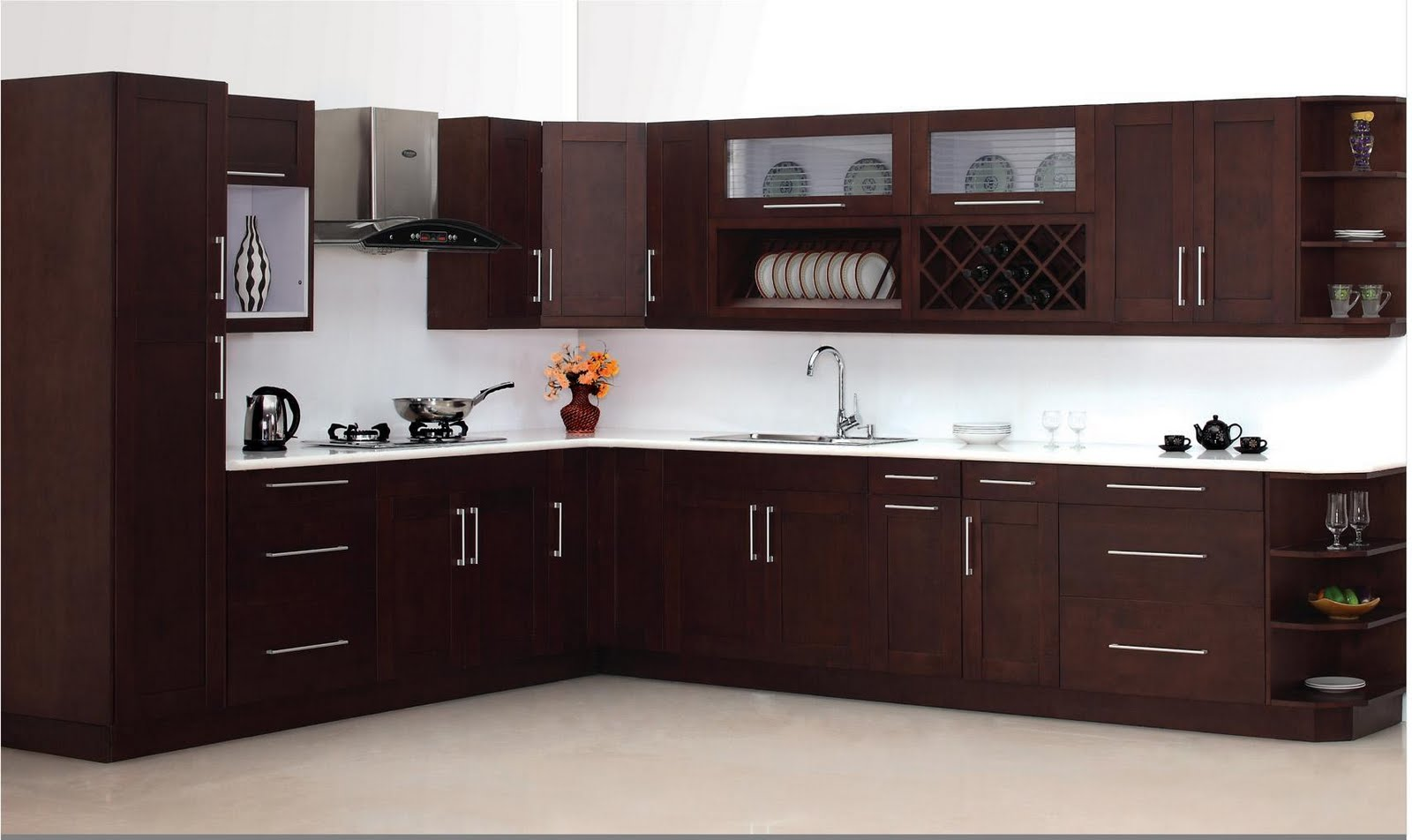Espresso Shaker Cabinets Kitchen Image Kitchen Bathroom Design Center