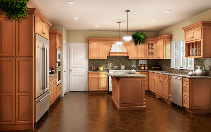 Kitchen Designs With Maple Cabinets Gorgeous Kitchen Image  Kitchen & Bathroom Design Center Review