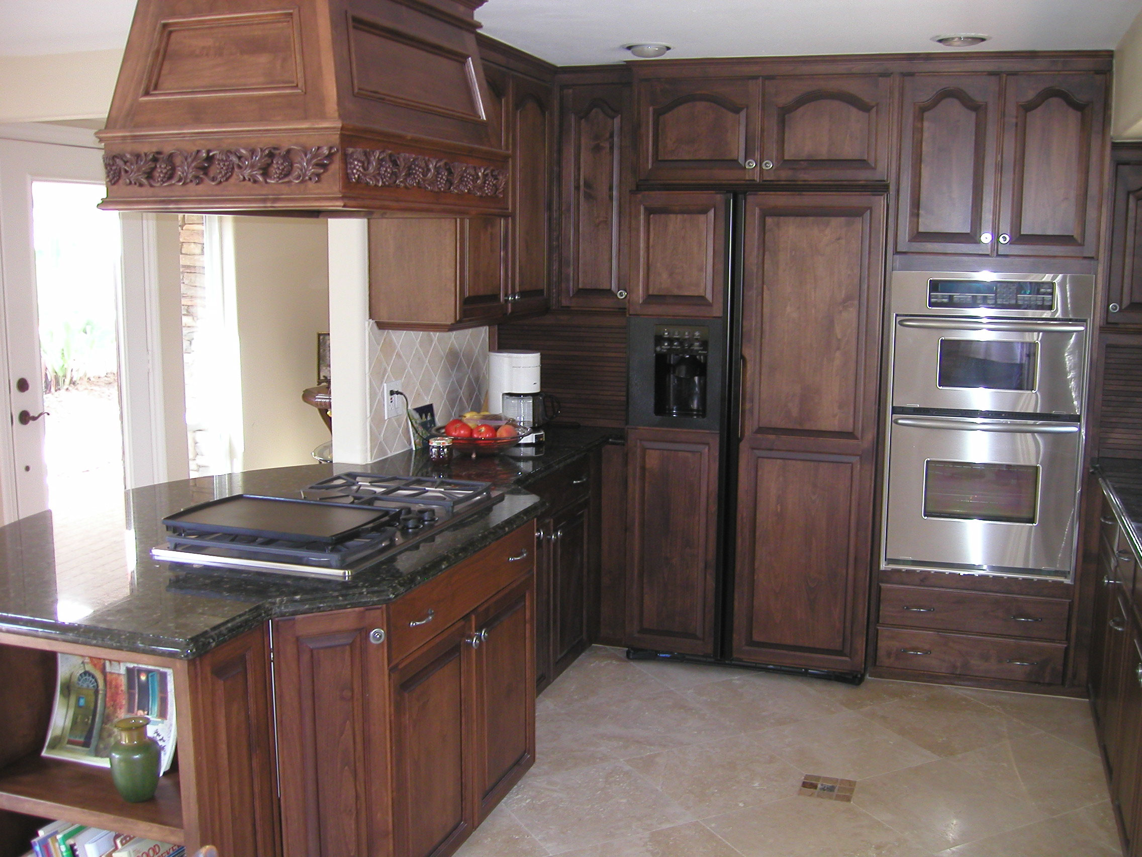 Oak Kitchen Brighter Kitchen Colors With Oak Country Oak Country Oak 3