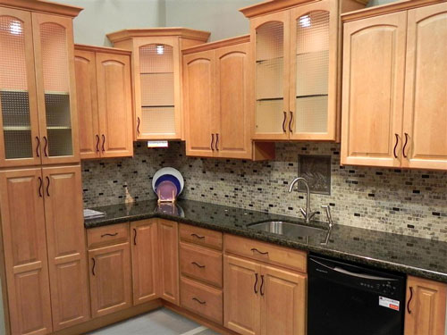 Kitchen Oak Cabinets