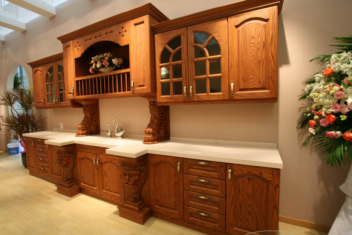 Oak Kitchen Cabinets Naples