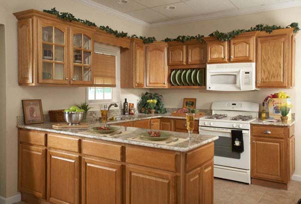 oak kitchen cabinet 6 - Oak Kitchen Cabinets Ideas