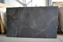 Black Orion Leather 2cm Size 117x71 Lot# N1